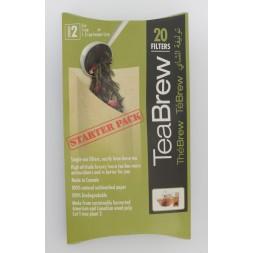 Tea Brew 20pk Filters
